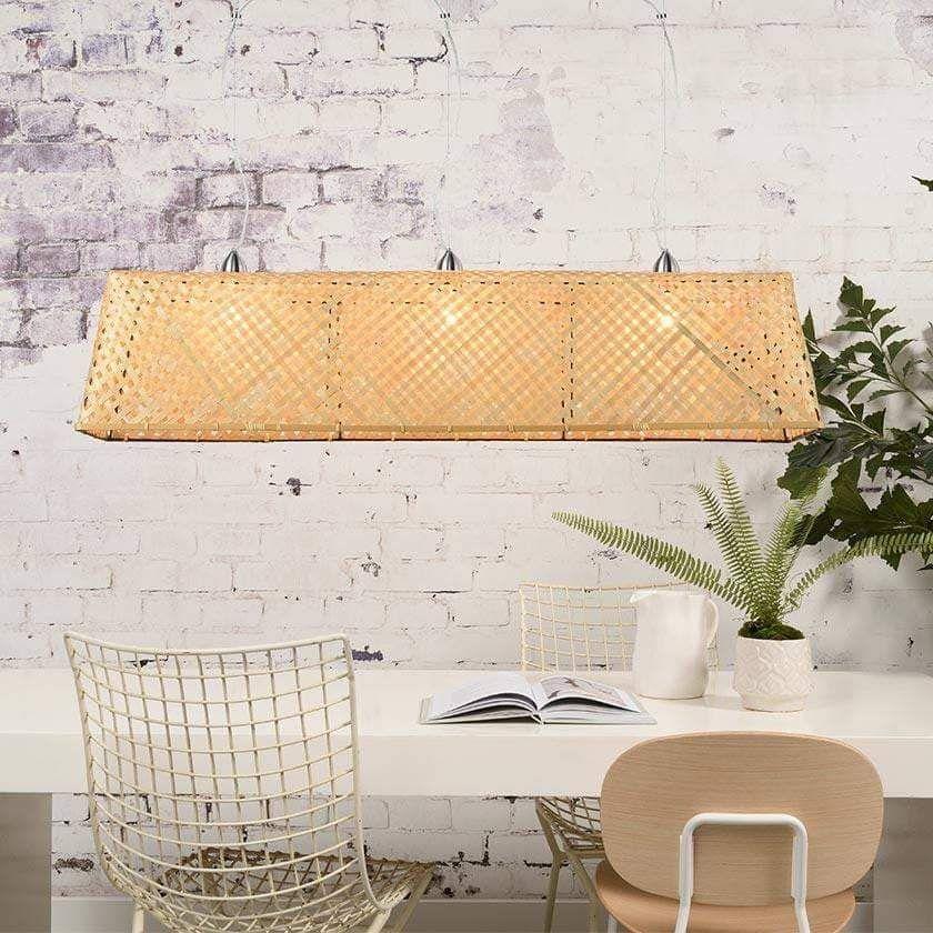 Komodo Bamboo Pendant Ceiling Light - Good&Mojo